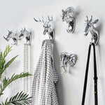 Animal Shaped Decorative Wall Hooks - Glamorous Hangups