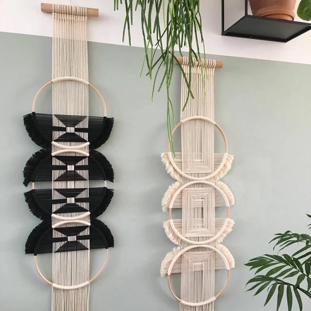 Ring Macrame Wall Hanging - Glamorous Hangups Ltd
