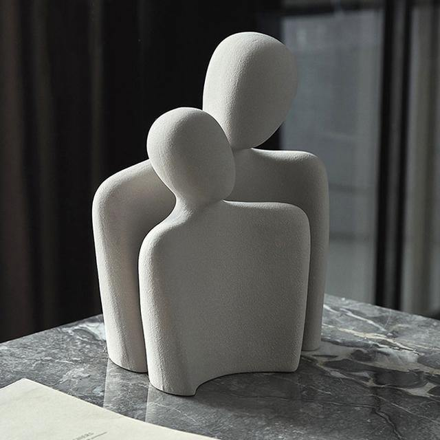 Nordic Couple Table Ornament - Glamorous Hangups Ltd