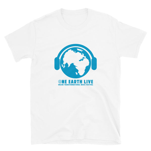 One Earth Live Short-Sleeve Unisex T-Shirt