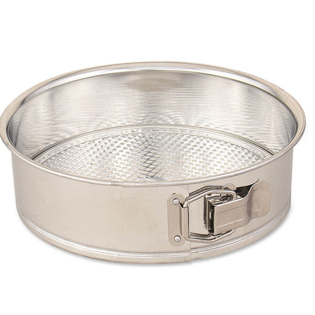 Professional Spring Form Cake Pan Silver  9""
