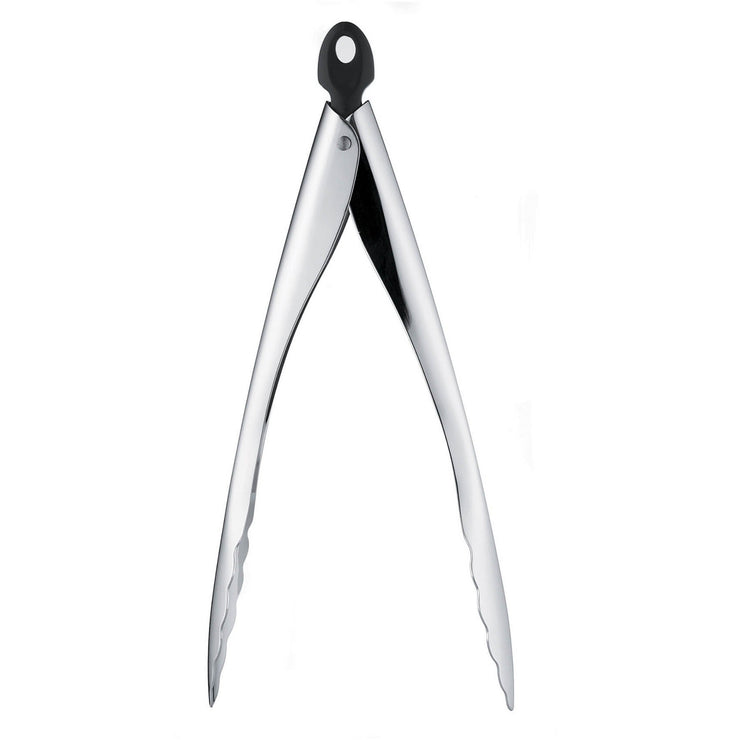Tempo Locking Tongs Silver  12""