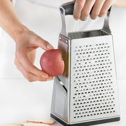 Cuisipro  Silver  4 Sided Box Grater - Cuisipro USA