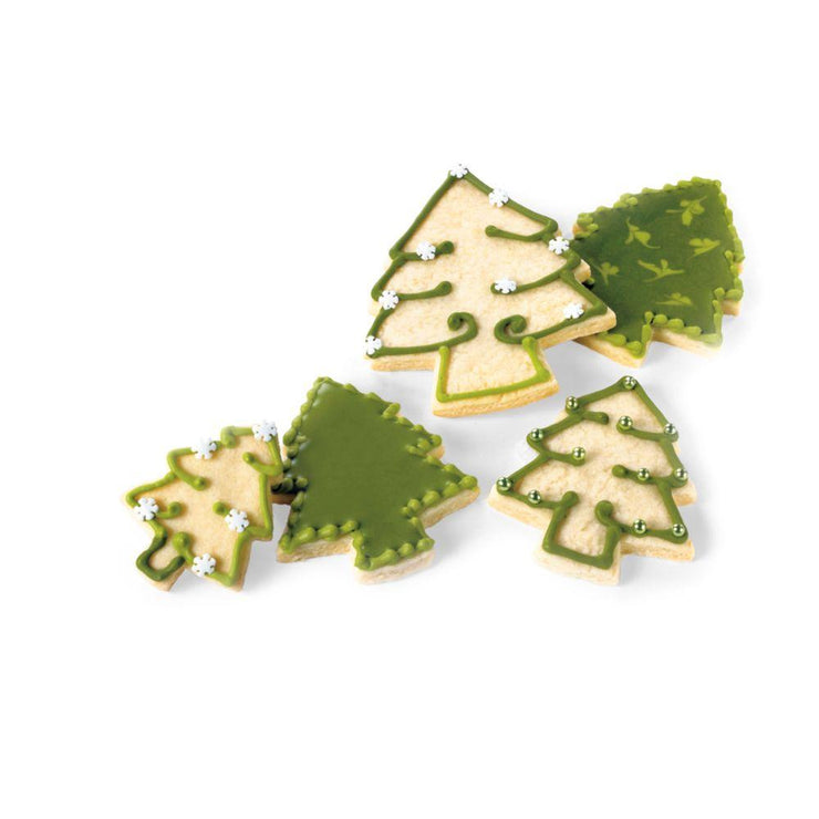 Cuisipro Snap-Fit Cookie Cutter Set, Christmas