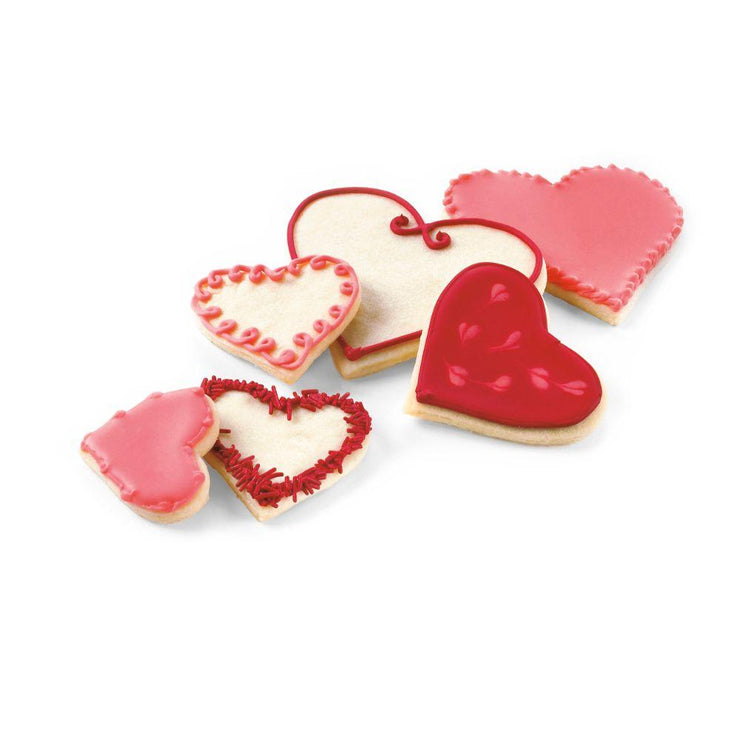 Cuisipro Hearts Snap-Fit Cookie Cutter Set