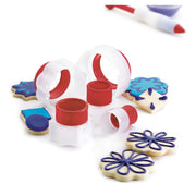 Cuisipro Geometric Snap-Fit Cookie Cutter Set