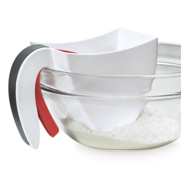 Cuisipro  White Scoop & Sift Flour Sifter - Cuisipro USA