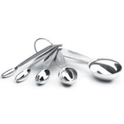 Cuisipro Stainless Steel Measuring Cups and Spoon Set _2 Sets
