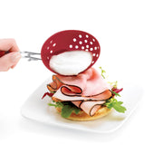 Cuisipro Red Egg Poacher _Set of 2