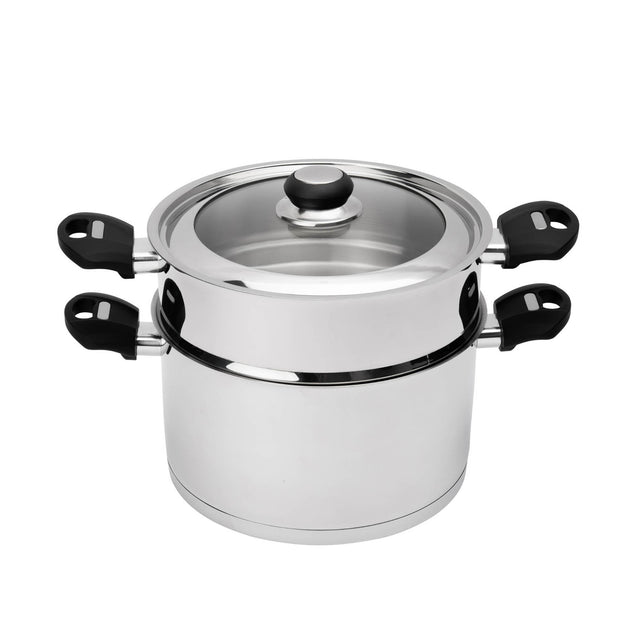 Cuisipro  Silver Opus Cookware Set  _Set of 10 - Cuisipro USA