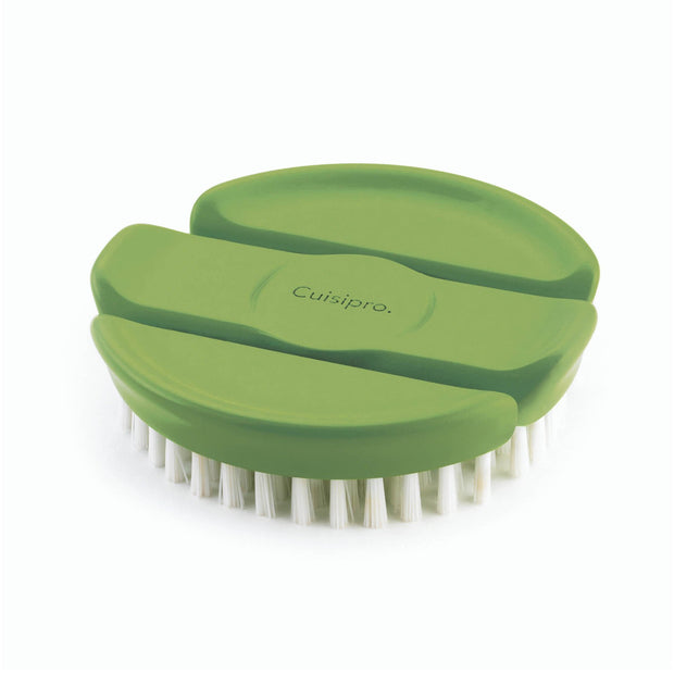 Vegetable Brush  Green  3.5""