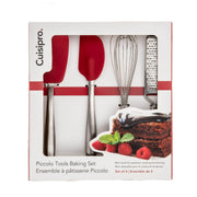 Cuisipro Mini Red Piccolo Baking Set_4 Piece - Cuisipro USA