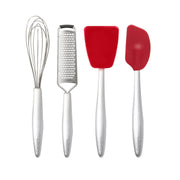 Piccolo Baking Set - 4 Piece Set Red