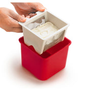 Yogurt Cheese Maker Red 6x5.7""