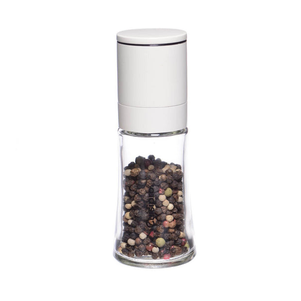 Salt & Pepper Mill White  5.25""