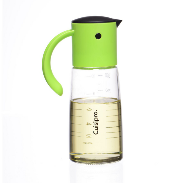 Cuisipro  Glass Oil & Vinegar Dispenser - Cuisipro USA