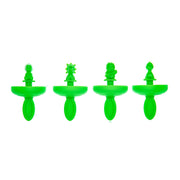 Cuisipro  Green Mini Dinosaurs Pop Mold_Set of 4 - Cuisipro USA