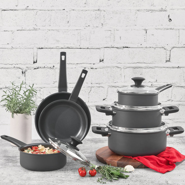 Aluminum Cookware 10pc Set