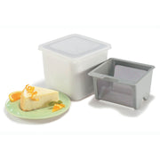 Yogurt Cheese Maker White 6x5.7""