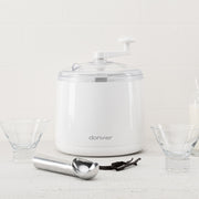 Cuisipro  White Donvier Ice Cream Maker
