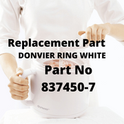 Replacement Part Donvier Ring White - Cuisipro USA