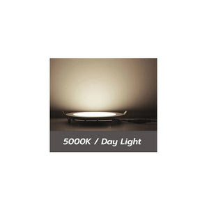 4 Inch LED Slim Satin Nickel Panel Light 5000K (Day Light) 6 Pack