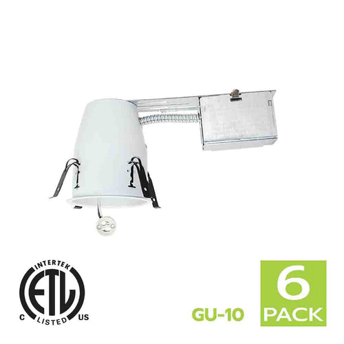 4 Inch Remodel Recessed Light Housing GU10 Socket