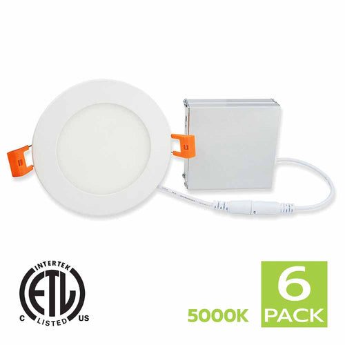4 Inch LED Slim White Panel Light 5000K (Day Light)