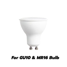 Load image into Gallery viewer, 3 Inch Shower Reflector Trim With Frosted Lens For GU10 Light Bulb (White) 6 Pack