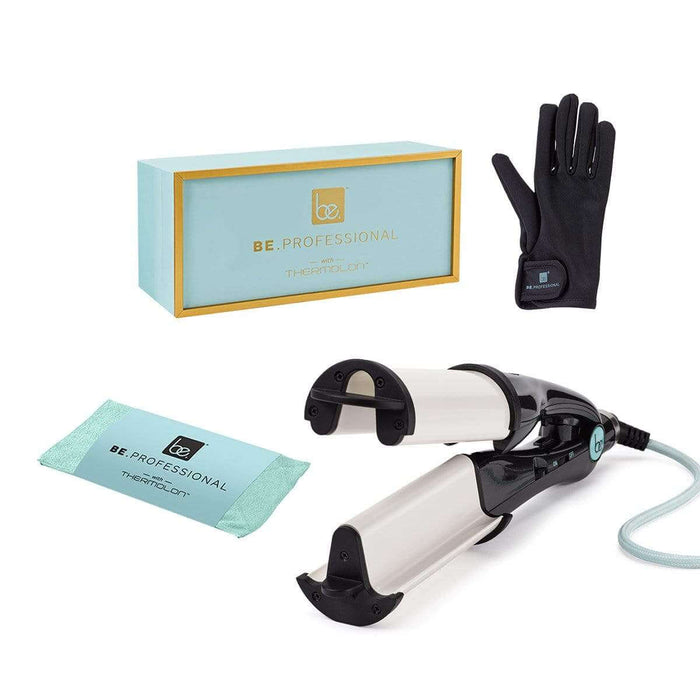 Be.Professional Be Professional Digital Thermolon Waver Hair Styler - Pearl Black - 2.5 Inch