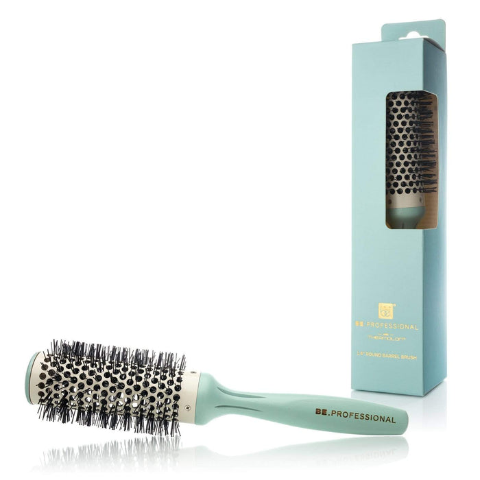 Be.Professional Be.Professional Round Boar Bristle Hair Brush | Professional Salon Model | 1.5""