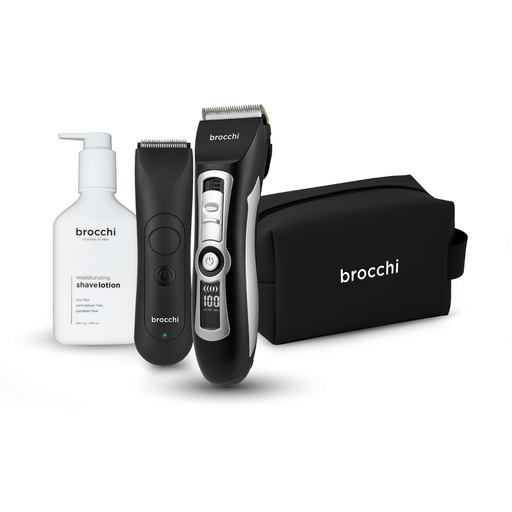 Cortex Beauty Shaving Bundle | 2 Trimmers, Shave Lotion & Bag Included