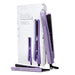 "Cortex International Lavender Cortex International Black Series 1.25"" & 0.5"" Duo Flat Iron Set"