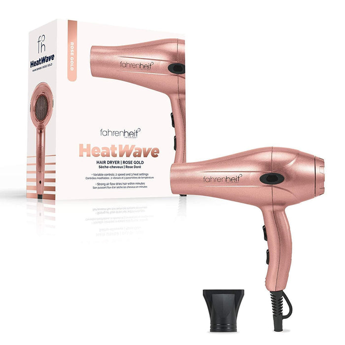 Fahrenheit° Rose Gold Fahrenheit Hair Dryer | Heat Wave Collection