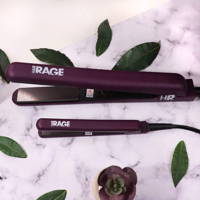 Hair Rage Flat Iron Set | Full Size + Mini