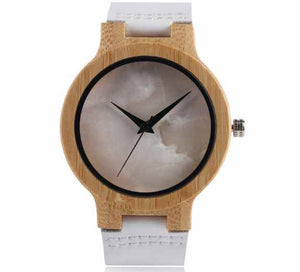 Marble face Wooden Watches