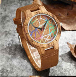 Artistic mix Wooden Watch