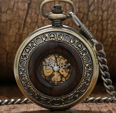 Hand Winding Mechanical Pocket watches