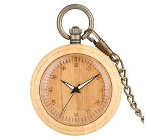 Wooden Pocket Watches