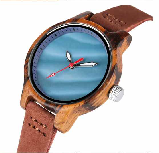 Shell Ladies Wooden Watches
