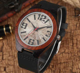 wooden watches Big number