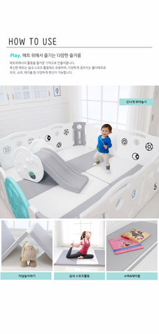 DELUXE LEARNING BABY PLAYMAT