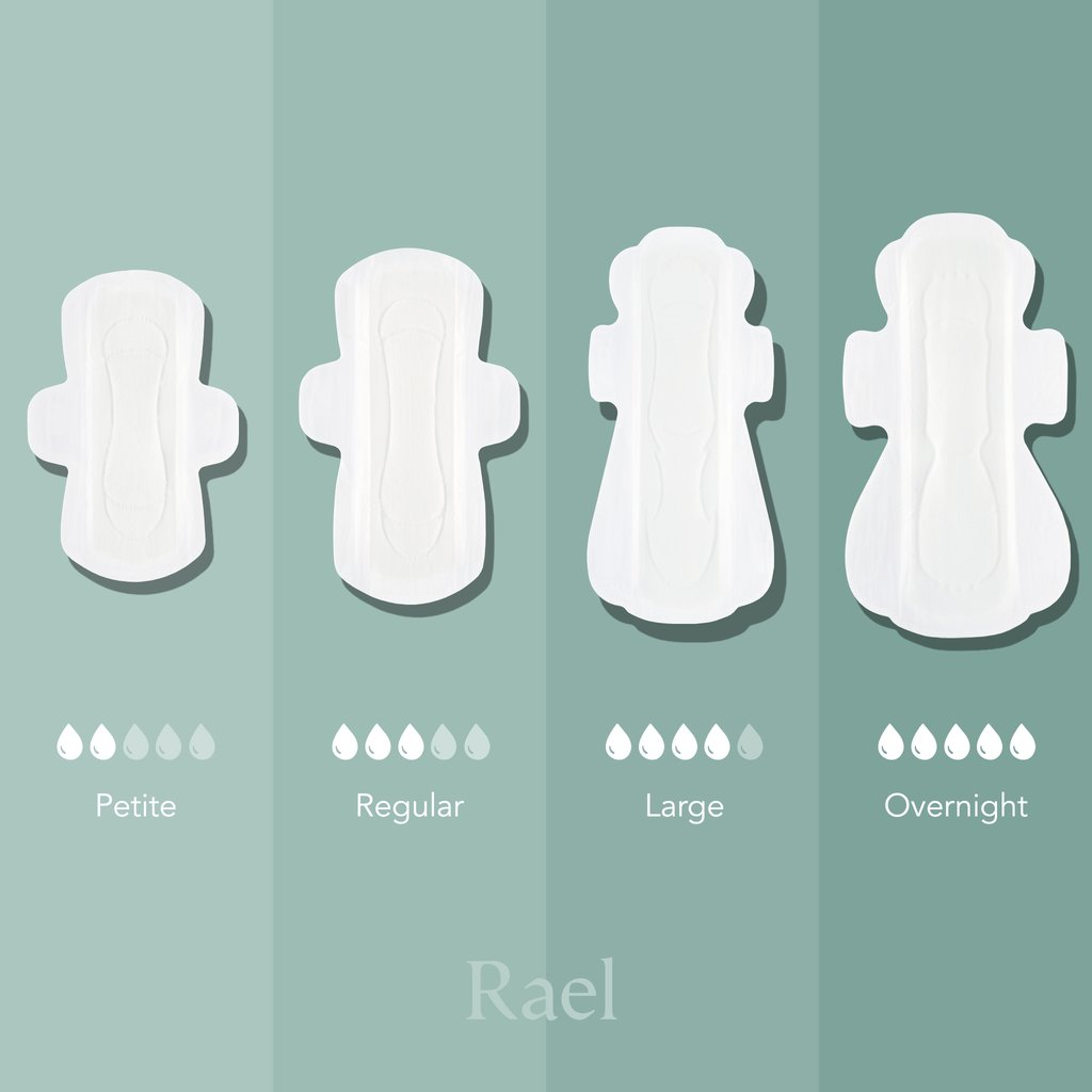 Rael Petite Pads with Organic Cotton Cover Sydney Australia NSW travel shopping