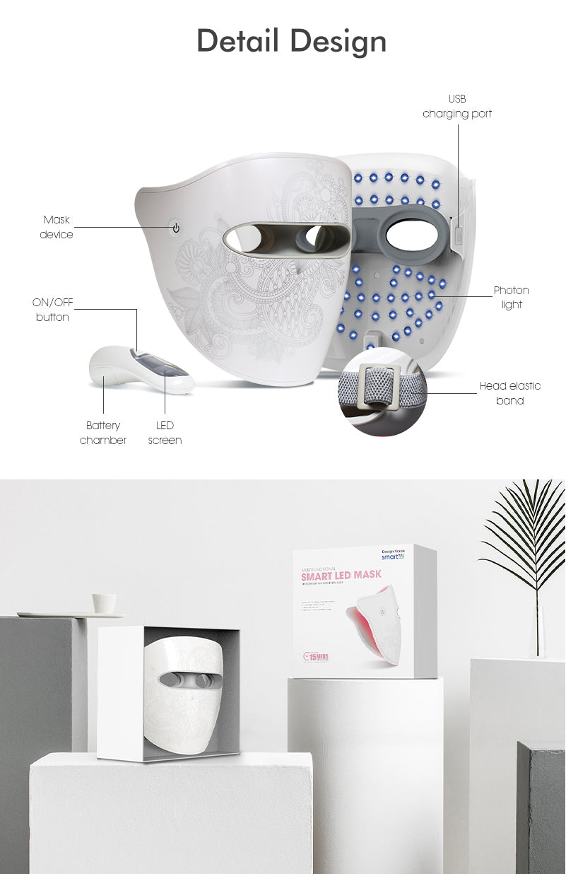 Smart LED Light Therapy Mask
