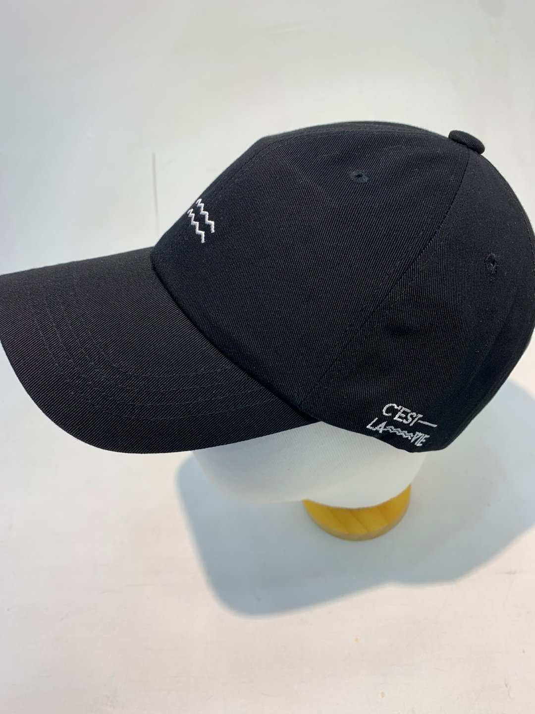 wave ball cap fashion casual hat work out ootd style k pop