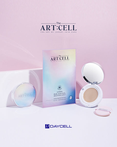 DAYCELL - The Artcell Aurora Pearl Tension Cushion Brightening Effect SPF50+ PA++++