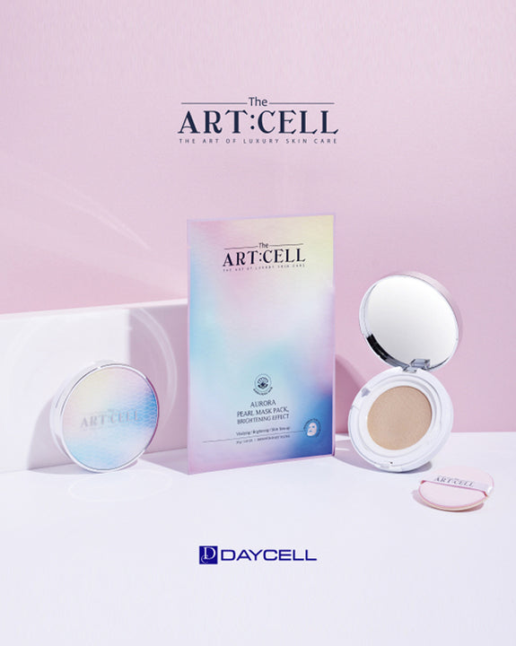 DAYCELL - The Artcell Aurora Pearl Tension Cushion Brightening Effect SPF50+ PA++++ (4415240470606)