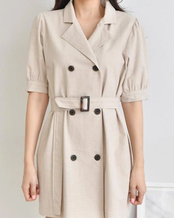 Sofia Trench Dress (4379716321358)