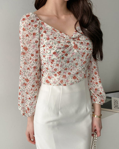 Bouquet Blouse (4509621125198)