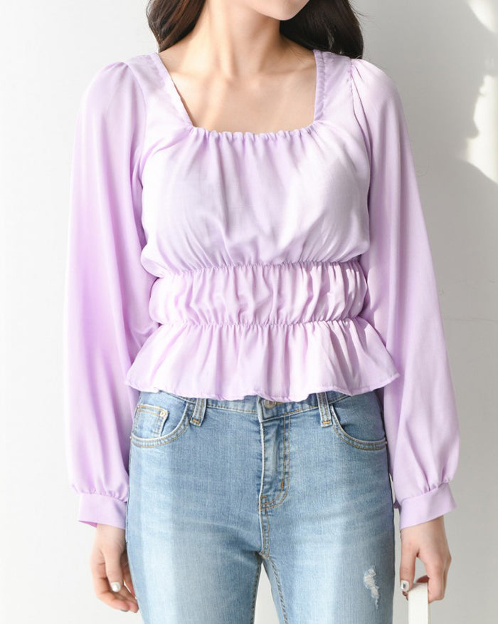 Sezane Slim Blouse (4506602799182)